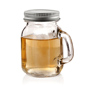 Twine Farmhouse Stein Mason Jar Shot Glasses (Set of 4)