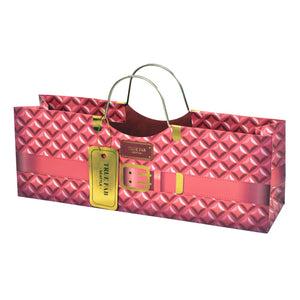 Pink Plush Wine Purse (Gift Bag)