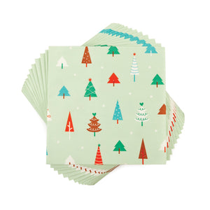 Merry Trees Napkins (Set of 20)