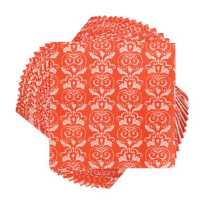 Rose Damask Napkins (Set Of 20)