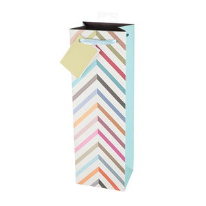 Pastel Chevron Gift Bag