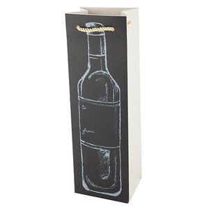 Chalkboard Bottle Gift Bag