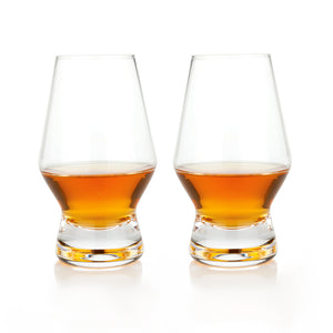 Viski Raye: Crystal Scotch Glasses