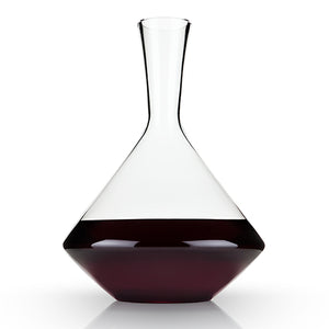 Raye: Angled Crystal Decanter