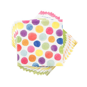 Water colour Dots Napkins