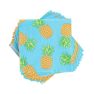 Tiki Pineapple Napkins