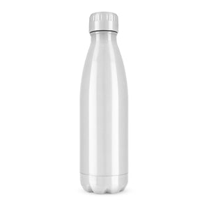 True2Go: Silver Stainless Steel Water Bottle