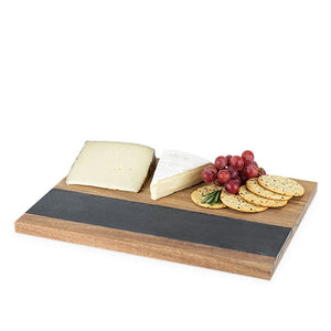Rustic Farmhouse: Wood with Slate Board (M)