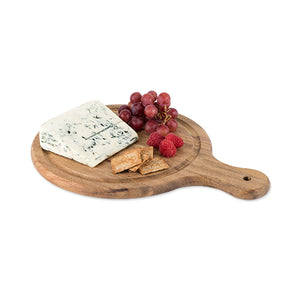 Country Home: Acacia Wood Artisan Cheese Paddle (M)