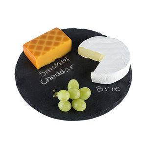 Country Home: Circle Slate Cheese Board (M)