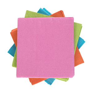 Assorted Neon Napkins