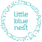 Little Blue Nest Logo