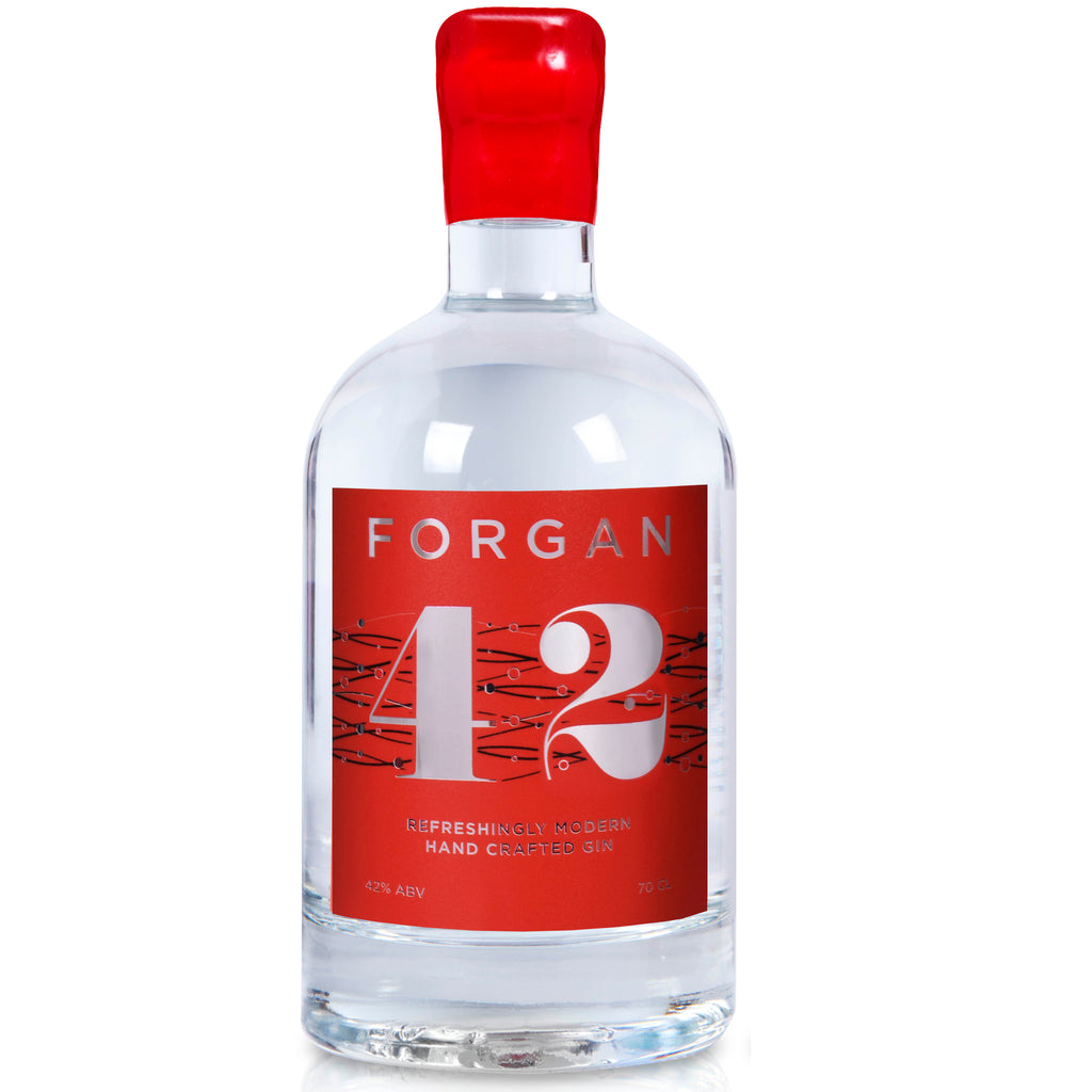 Refreshingly Modern Forgan 42 70cl 42%ABV