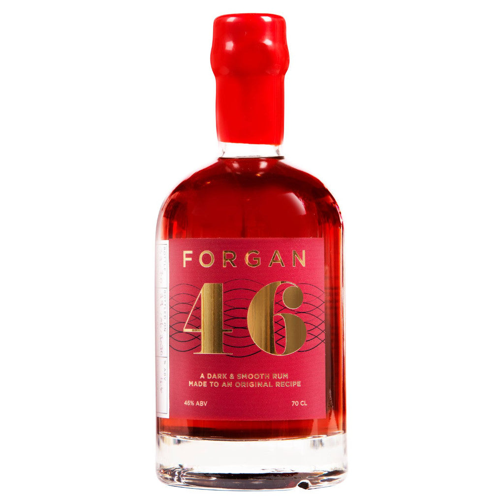 Forgan 46 Dark Rum 70cl 46%ABV Batch 4