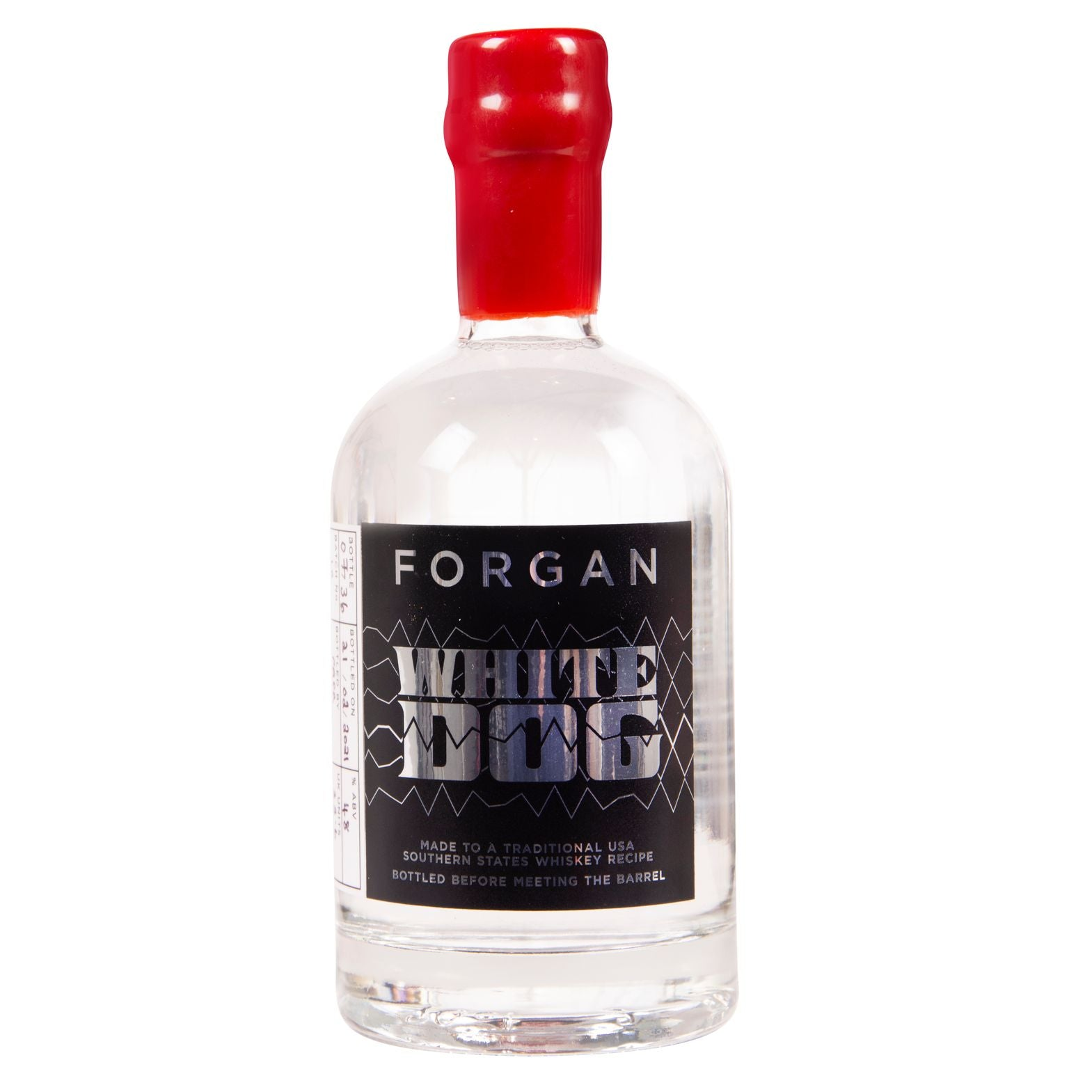 Forgan White Dog - Unaged Single Grain Corn Spirit Batch 10 - 70cl bottle 48%ABV