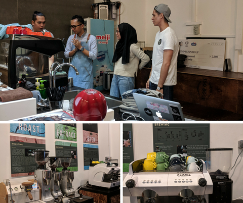 Dutch Colony barista training