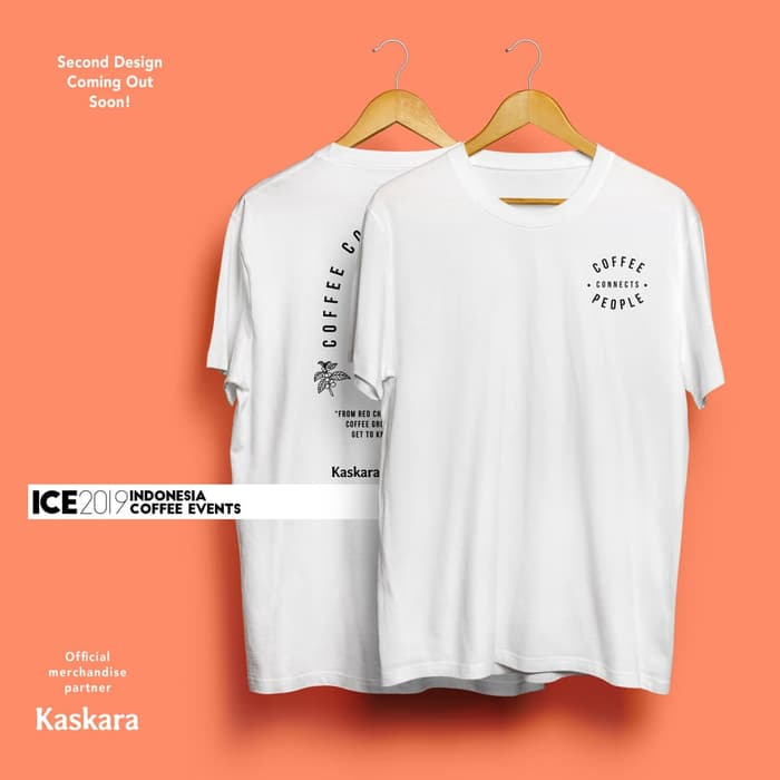 ICE 2019 Official T-shirt x boringday White (unisex)