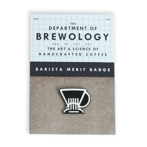 Barista Merit Badge - Clever
