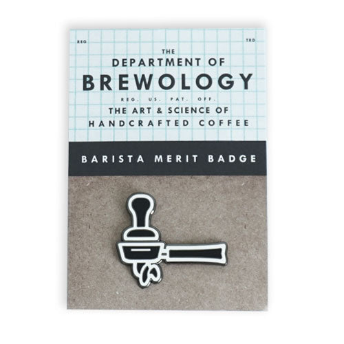 Barista Merit Badge - Portafilter