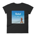 Rebel with pineapple T-Shirt Damen - Festibeasy