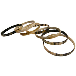 AKILI BANGLES HANDCRAFTED BULLHORN