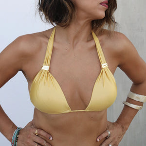 CRUSH ON YOU BIKINI HALTER TOP