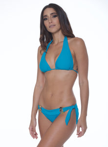 DAY DREAMER LONG TRIANGLE BIKINI TOP