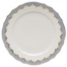 Herend Fishscale Light Blue Service Plate
