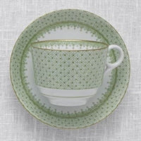 Mottahedeh Apple Lace Cup and Saucer