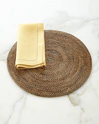 Calaisio Round Rattan Place Mats