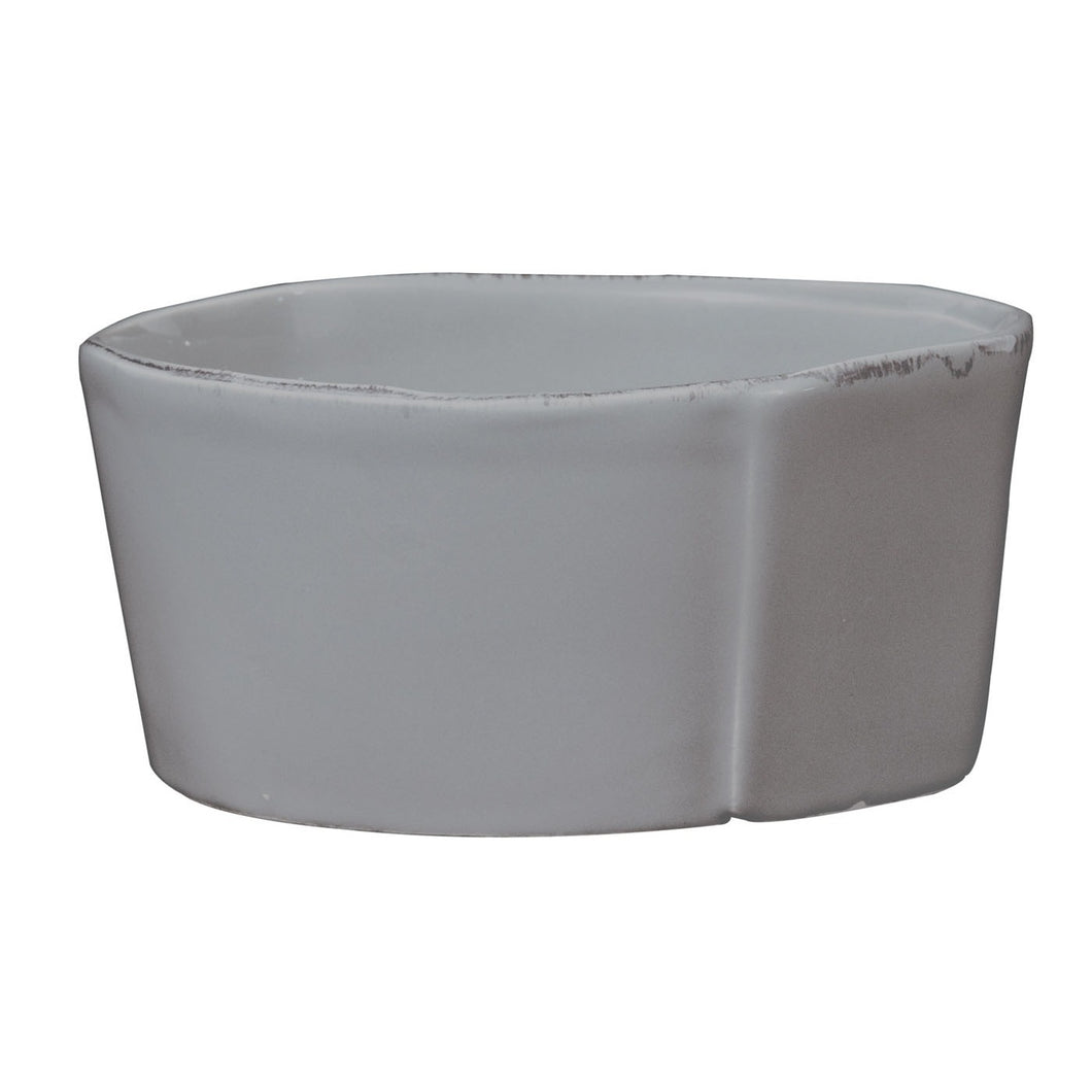 Vietri Medium Serving Bowl in Gray