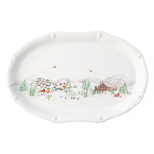 North Pole Serving Platter by Juliska