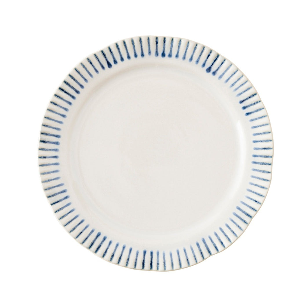 Sitio Stripe Salad Plate by Juliska