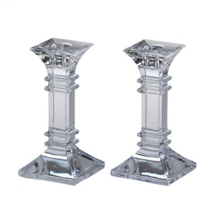 "Waterford Marquis Trevisio 6"" Candlesticks"