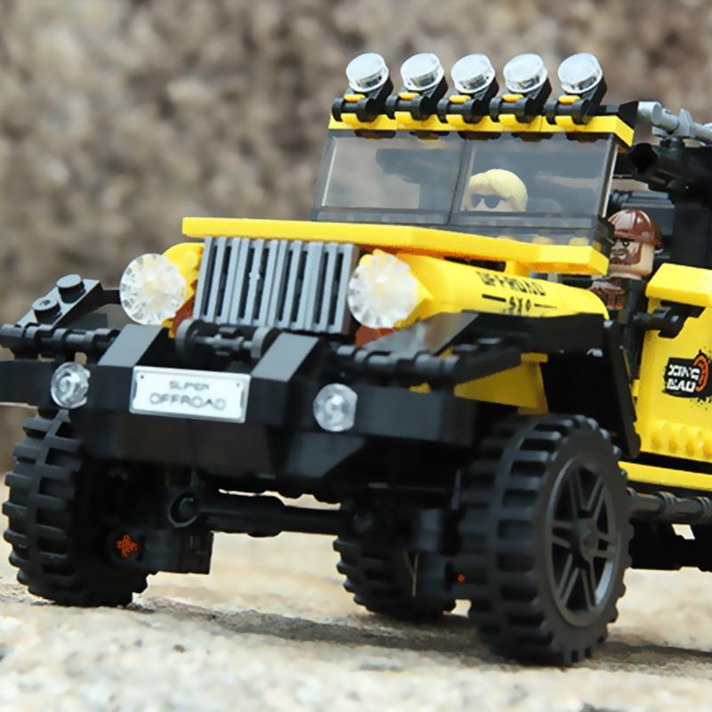 Offroad Car Set Building Blocks Lego