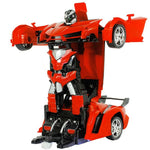 Remote Control Robot Transformer Car