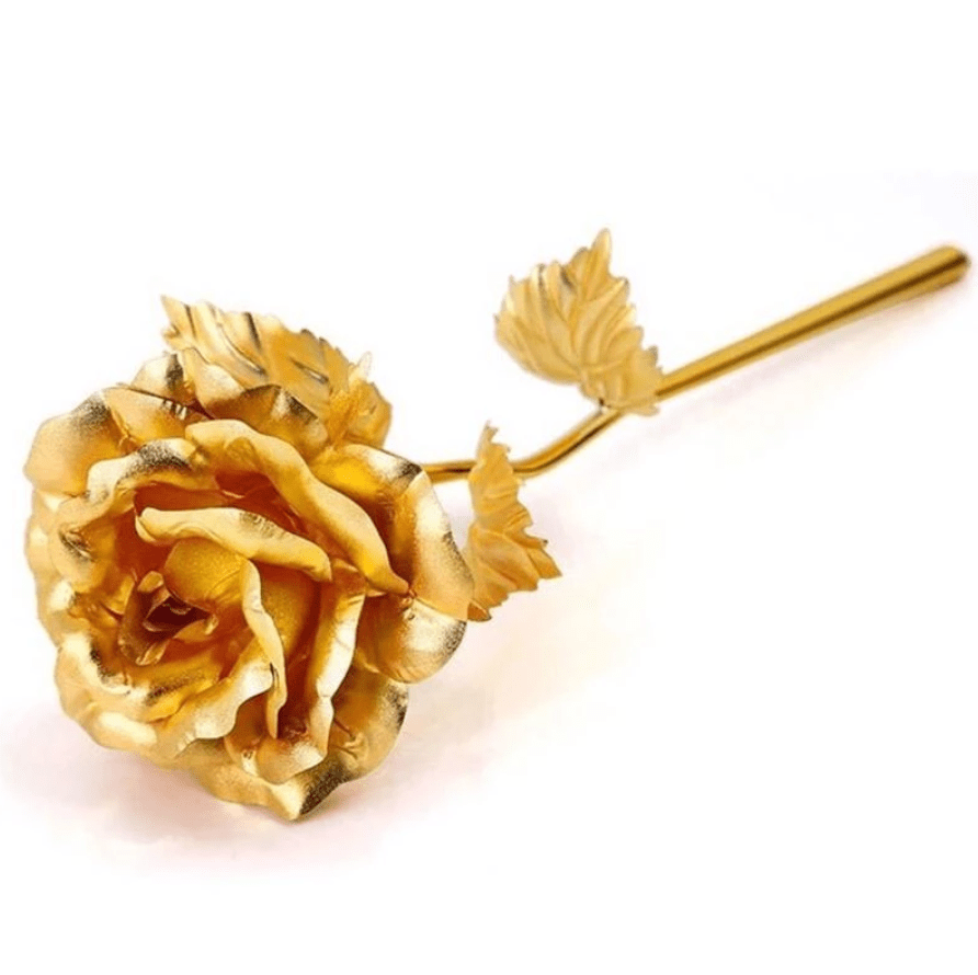 24k Gold Foil Rose - Boxed