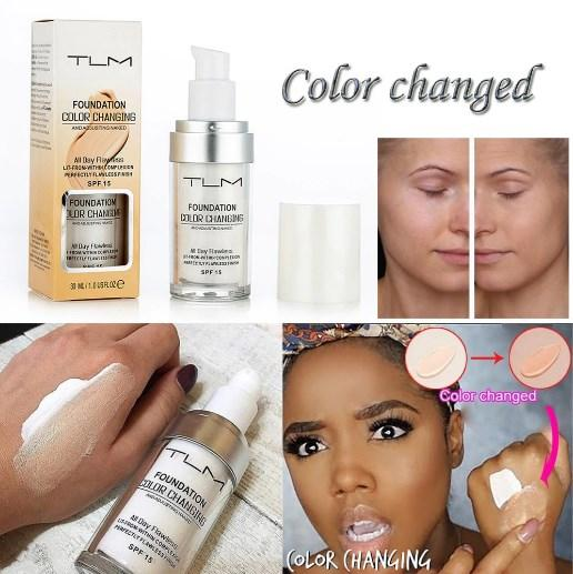 TLM Colour Changing Foundation Makeup