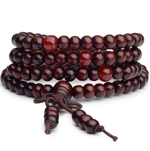 Mala Beads Sandalwood Plus 1 Free