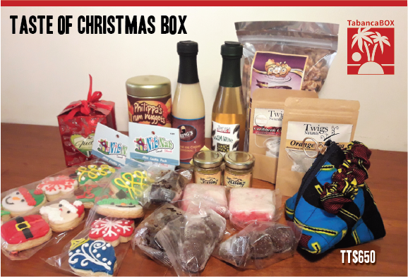 Christmas Box - A Taste of Christmas