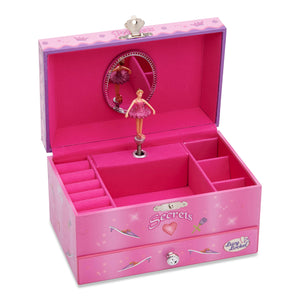 Princess Musical Jewellery Box - Open - Lucy Locket