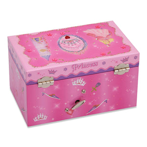 Princess Musical Jewellery Box - Back - Lucy Locket