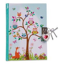 Woodland Animals Secret Dairy - Front - Lucy Locket