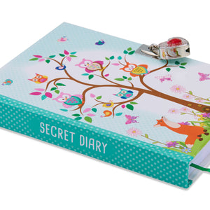 Woodland Animals Secret Dairy - Spine - Lucy Locket