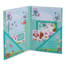 Woodland Animals Writing Set - Open Folder - Lucy Locket