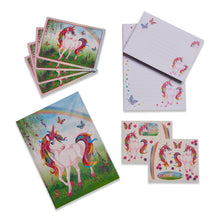 Magical Unicorn Writing Set - Folder and Contents - Lucy Locket
