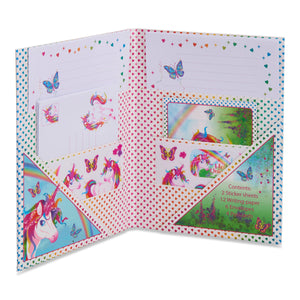 Magical Unicorn Writing Set - Open - Lucy Locket