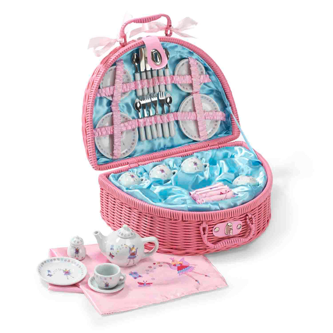 Fairy Tale Picnic Basket & Tea Set - Lucy Locket