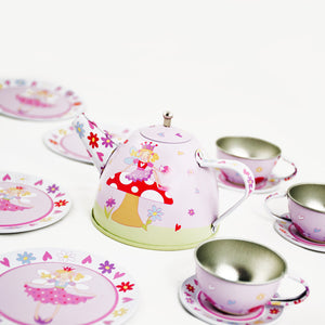 Fairy Tale Tea Set & Carry Case Toy - Contents - Lucy Locket