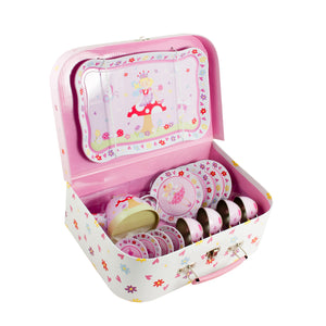 Fairy Tale Tea Set & Carry Case Toy - Open - Lucy Locket